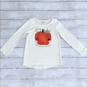 Gymboree Most Precious In The Patch Pumpkin Shirt